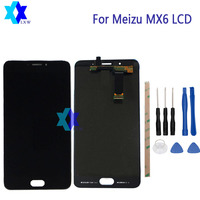 For Meizu MX6 LCD Display Touch Screen Panel Digital Replacement Parts Assembly Original 5 5inch 1920x1080P