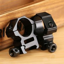 Good Quality 2PCS Hunting 1 Inch 25 4mm Medium Profile Scope Ring 21mm Picatinny Weaver Rifle