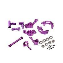 HSP 1/10 RC Car Upgradable Optionals Part Aluminum Steering Hub Carrier 102210 102211 102212 102010 102011 102012 102040 102057