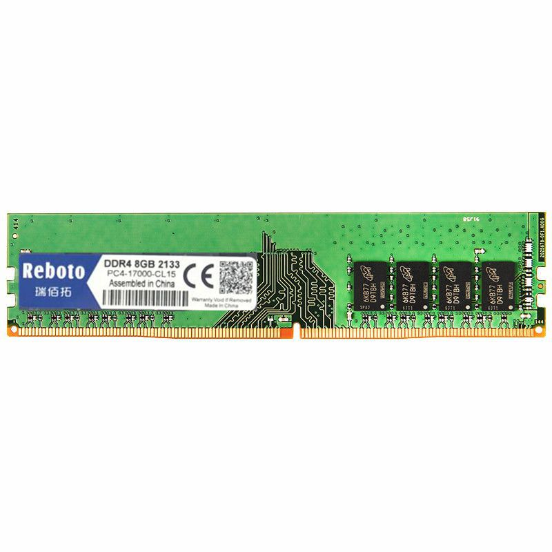 Reboto Ram DDR4GB/8GB/PC4 2133P-2400P   For dimm ddr4 ram memory compatible all Desktop  284pin Lifetime Warranty  цены