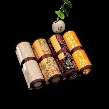 Przewiń papier Xuan Papel Arroz kaligrafia szczotka pisanie papier Xuan archaistyczny papier ryżowy chiński obraz półsurowy papier ryżowy tanie i dobre opinie suvtoper CN (pochodzenie) 6045 16cm*2 6m 22cm*3 5m Half-Ripe Xuan Paper