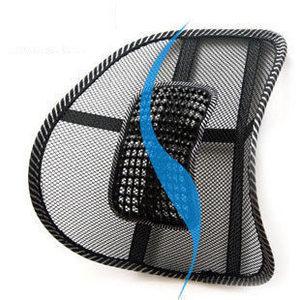 Image 2 - Массажные бусины для автомобильного сиденья, кожаная Автомобильная подушка, дышащая Бытовая подушка