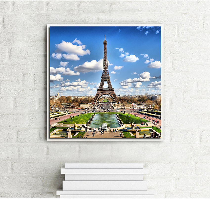 A Gorgeous City Cat Painting Chinese Counted Cross Stitch Kits 11ct Printed Cross-stitch Dmc Embroidery Home Decor To Adopt Advanced Technology Home & Garden