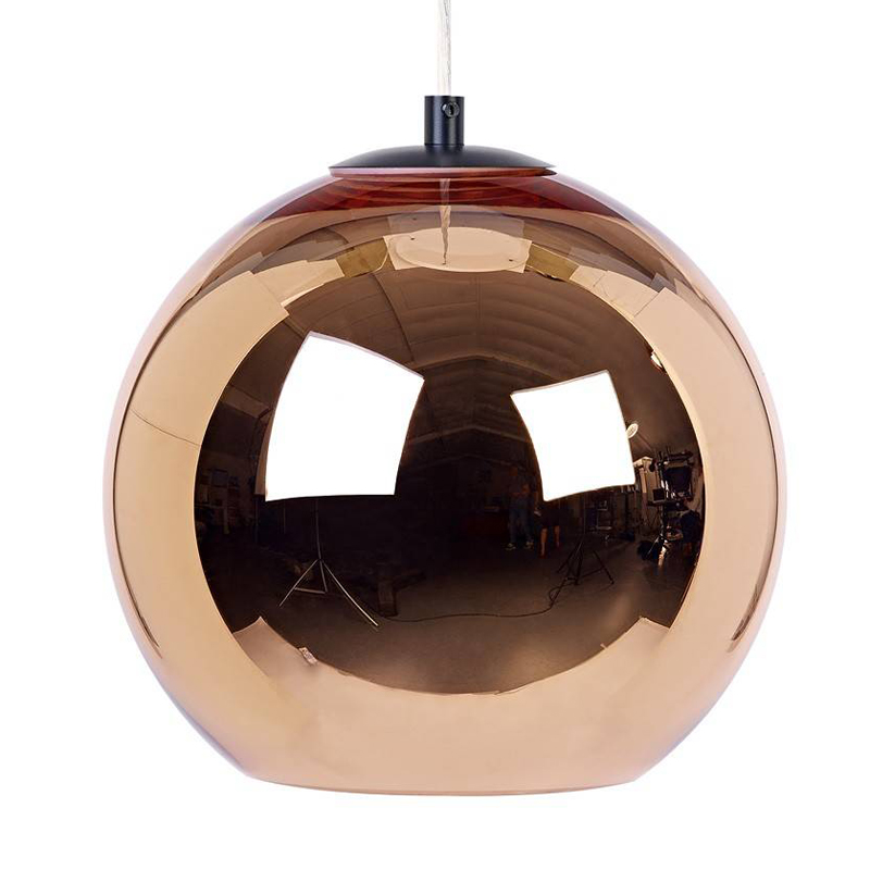 Modern Contemporary Silver Bronze Copper Shade Pendant Lamp E27 Suspension Light Lighting Fixuture for Dining Room willlustr copper pendant lamp brass hanging light fabric shade chandelier modern suspension lighting american country bronze