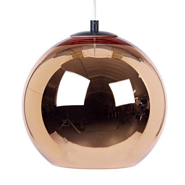 Modern Contemporary Silver Bronze Copper Shade Pendant Lamp E27 Suspension Light Lighting Fixuture for Dining Room