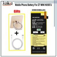 Baterie do Telefonów komórkowych Dla ZTE Nubia Z7 MINI NX507J Komórek Montażu Części Zamienne Do ZTE Z7 MINI NX507J Baterii telefonu telefon