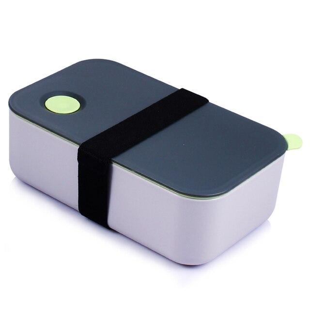Новая печь lunchbox для детей и взрослых Пластик Еда контейнер для хранения Портативный Пикник Bento Box Обед японский Стиль едой преп