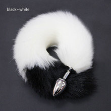 Metal Feather Anal Toys Fox Tail Plug Erotic Anus Toy Butt Sex For Woman And Men Sexy Adult Accessories