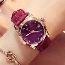 GUOU Women's Watch Top Brand Watches For Women Wrist Watches Fashion Calendar Luxury Diamond Ladies Watch Clock saat reloj mujer
