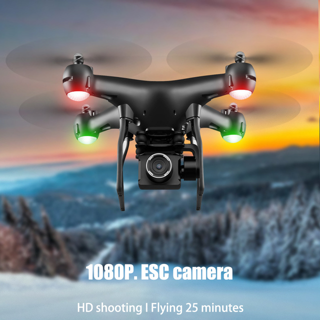 Drone 4K S32T rotating camera quadcopter HD aerial photography air pressure hover a key landing flight 20 minutes RC helicopter 5