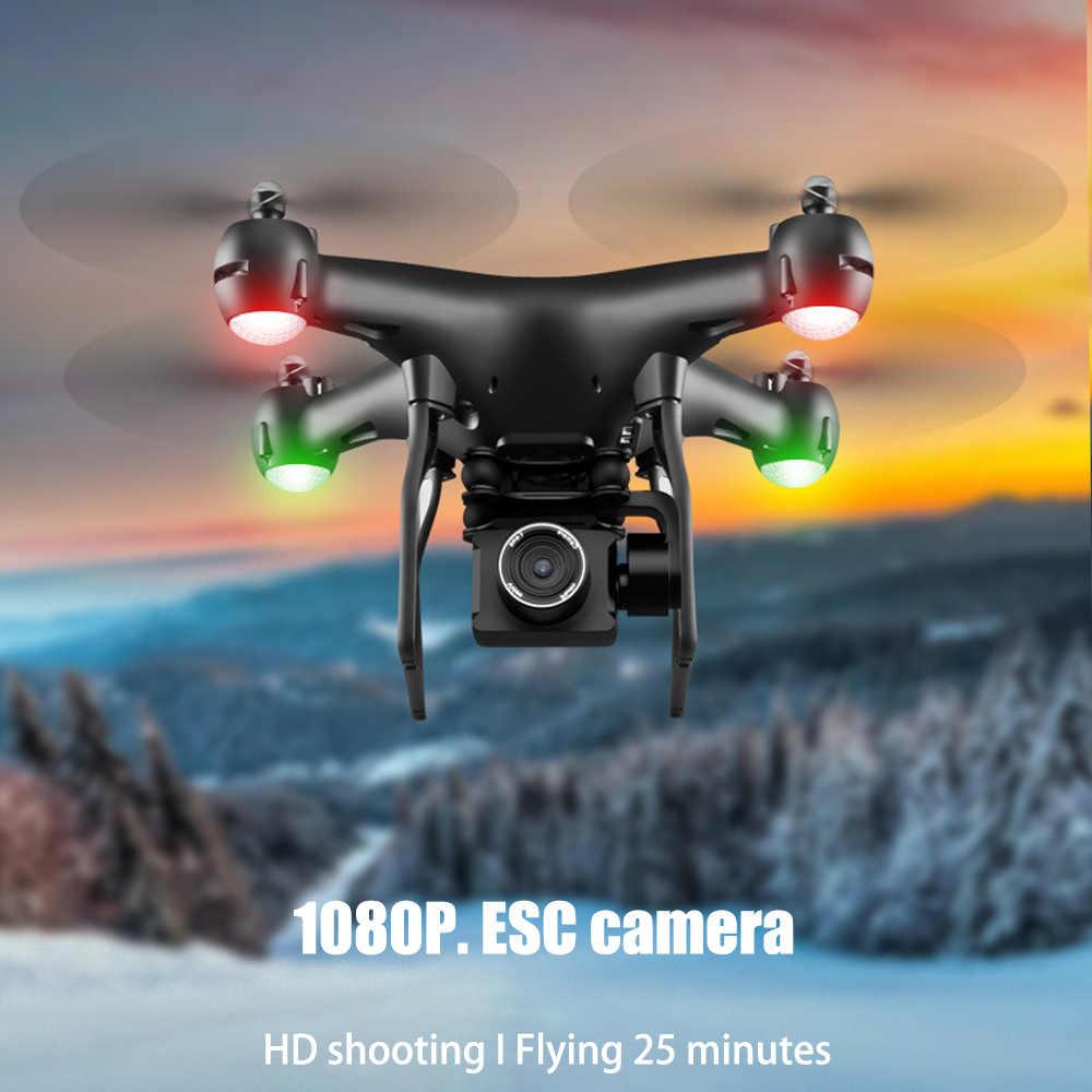 Drone 4K S32T Berputar Kamera Quadcopter HD Fotografi Udara Tekanan Udara Membawa Kunci Pendaratan Penerbangan 20 Menit RC helikopter