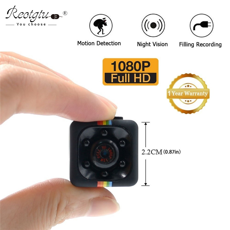 Original SQ11 Mini Camera HD 1080P Camara Camcorder Night Vision Micro Cam Outdoor Sport Mini DV Voice Video Recorder Kamara