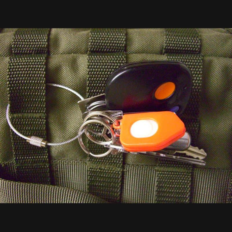 10 sztuk wspinaczka akcesoria Mousqueton kabel karabińczyk na klucze łańcuch Camping hak na zaczep narzędzie edc lina ze stali nierdzewnej brelok