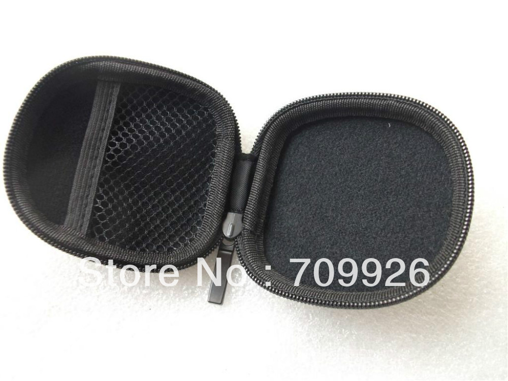 EVA CARRY BAG EARPHONE HEADPHONE CASE 1000PCS/Lot