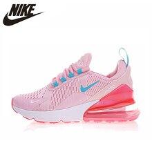 release date 4c494 00485 Nike AIR MAX 270 mujeres corriendo Zapatos amarillo rosa la absorción de  choque antideslizante resistente al