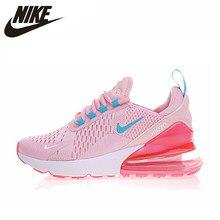 cheap for discount 0de17 87202 Nike AIR MAX 270 zapatos para correr para mujer, rosa amarillo, la  absorción de choque antideslizante resistente al desgaste lig.