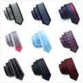 Hi-Lazo 16 Estilos Corbatas Delgadas para Hombre Trajes 6 cm Frontera Fija Flaco Lazos Para Hombre Corbatas de Alta Calidad corbatas Corbatas Gravatas