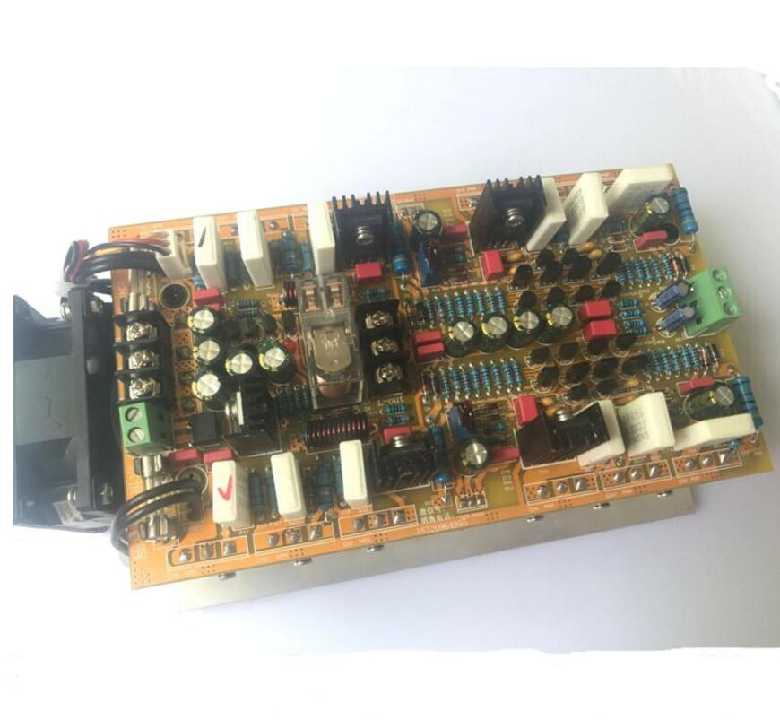 2018 Amplifiers hifi 2 .0 A class stereo amplifier audio dual channel high amplificador 600W*2 high power amplifier board