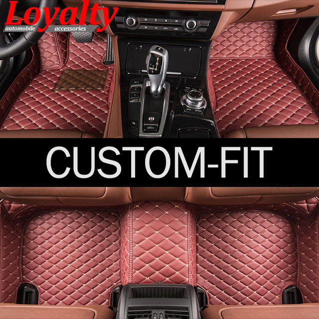 Loyalty D Car Floor Mats For VW Golf Polo Passat B For Audi A - Audi loyalty