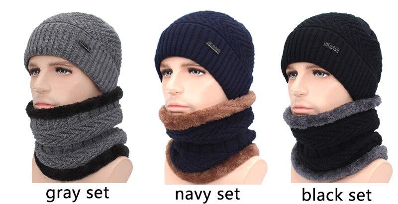 قبعات مع وشاح للرجال 11