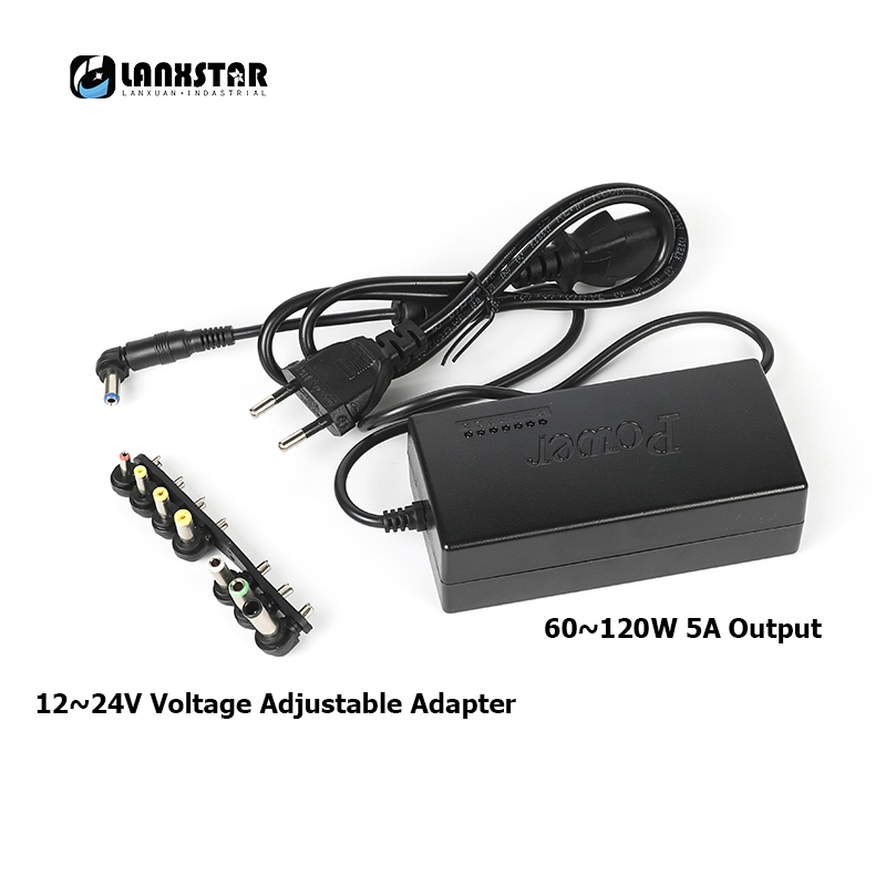 775 Motor Hand Drill 120W Adjustable Speed Power Adapter AC110~240V Output DC12V/16V/18V/19V/20V/22V/24V 5A Laptop Power Supply image