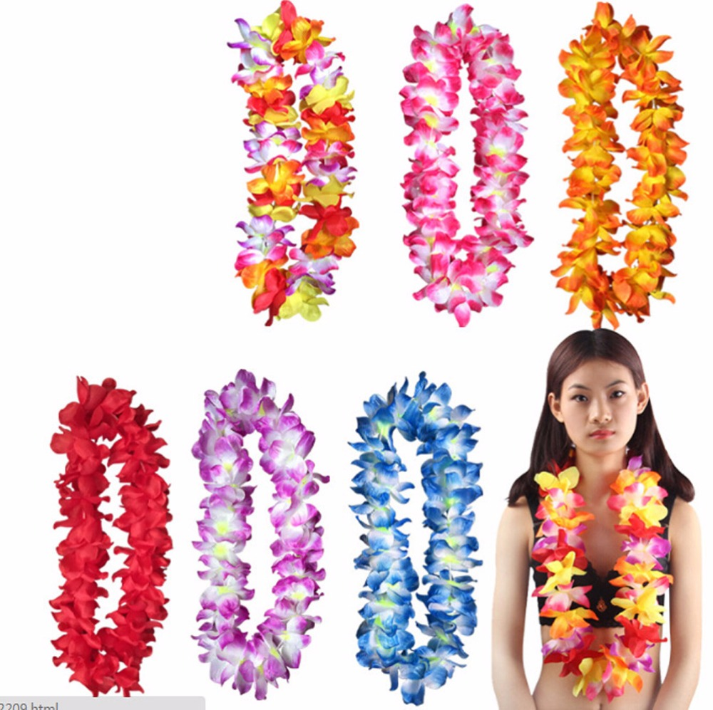 6 pcslot pre kindergarten toys hawaiian ruffled simulated silk 6 pcslot pre kindergarten toys hawaiian ruffled simulated silk flower leis b366 in artificial dried flowers from home garden on aliexpress izmirmasajfo