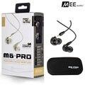 Novo fone de ouvido Com Fio MEE M6 PRO Universal-Fit-Ruído Isolando fones de ouvido de áudio do Músico Monitores de Ouvido fone de ouvido com caixa de varejo