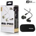 Nuevo auricular Con Cable MEE audio M6 PRO Universal-Fit Monitores In-Ear auriculares auriculares Con Aislamiento de Ruido del Músico con caja al por menor