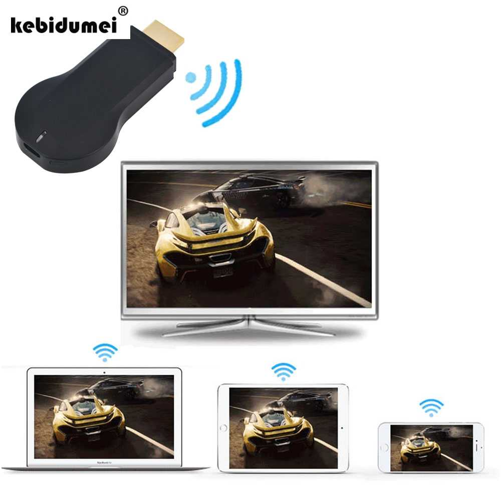 Kebidumei TV stick inalámbrico M2 receptor de pantalla hdmi para iPhone 7 6X8 ios cualquier Android todos comparte cast miracast adaptador dongle