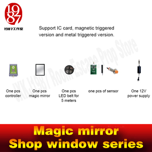 Image 4 - Real life room escape props magic mirror IC card version for real life chamber room from  jxkj1987 adventure room game props