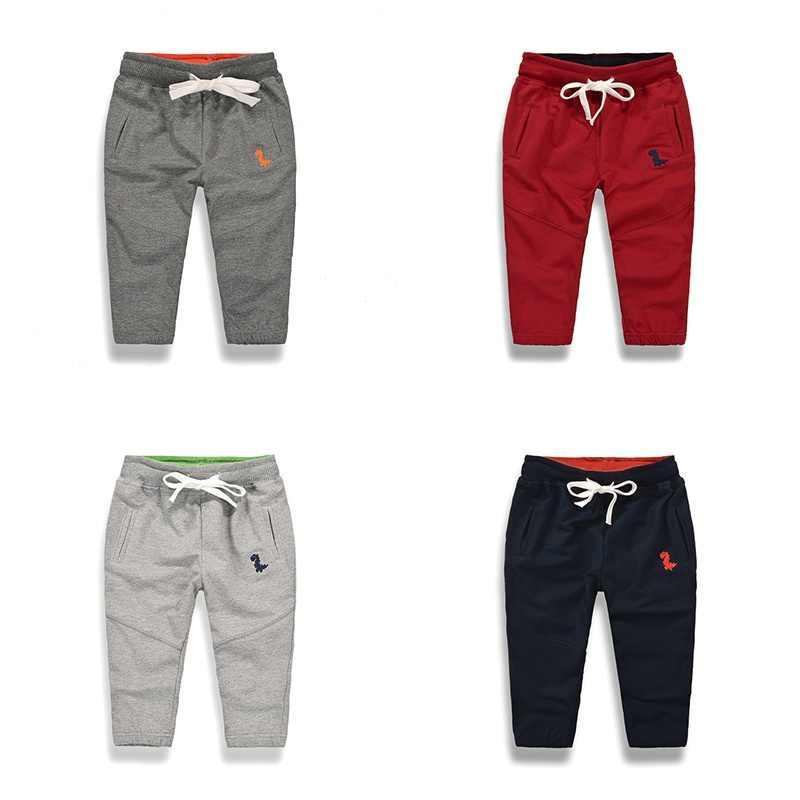 bd457867 Весна-лето 2019, новые детские штаны, повседневные спортивные штаны для  маленьких мальчиков,