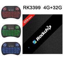 H96 Pro+ Android 6.0 TV Box S912 Octa Core 3G RAM 32G ROM Bluetooth 4.0 Dual Wifi Kodi Gigabit Ethernet 1000M 4K Smart TV недорого