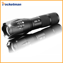 z50 E17 LED Flashlight zoom torch waterproof flashlights XM-