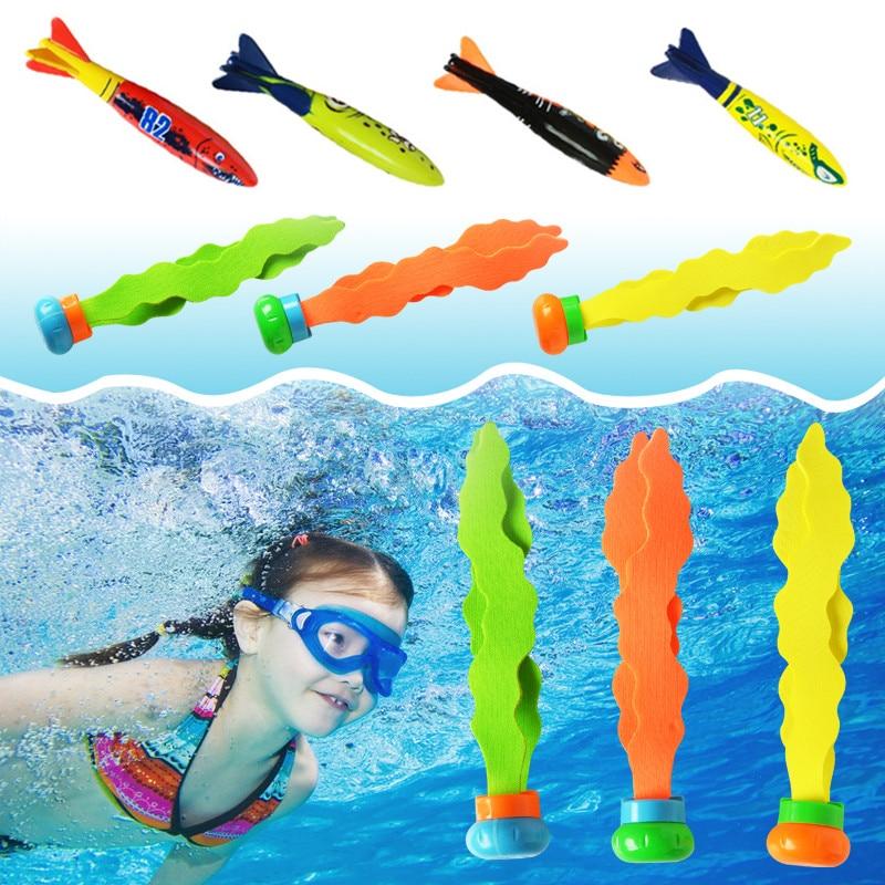 חדש קיץ כריש טורפדו רקטות לזרוק צעצוע מצחיק שחייה בריכת צלילה משחק צעצועים לילדים צלילה אביזרי צעצוע
