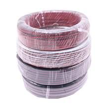 Câble d'extension électrique, couleur unique, 2 broches, 3 broches, 4 broches, 5 broches, 1M 5M 10M 18AWG, 20AWG, 22AWG, connexion de bande rvb RGBW LED