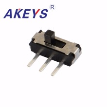 30PCS MSK-12D19 MINI slide switch 1P2T SPDT side insert 3 pin mini toggle switches micro slide switches