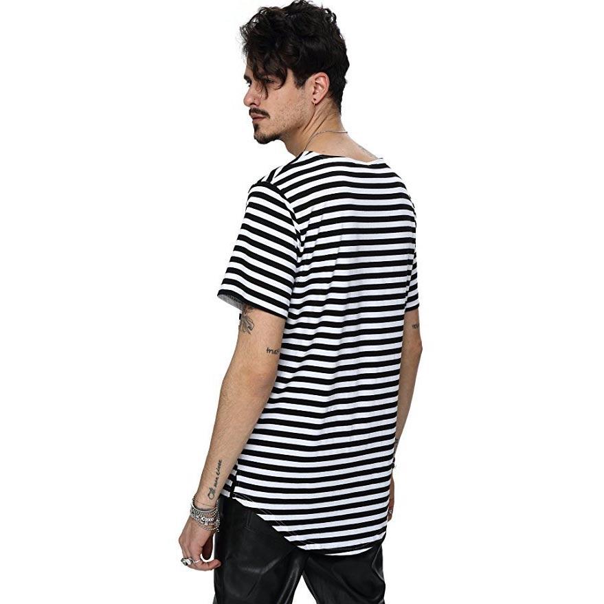 Nuevo 2018 calle de moda de verano camiseta de los hombres de la - Ropa de hombre - foto 1