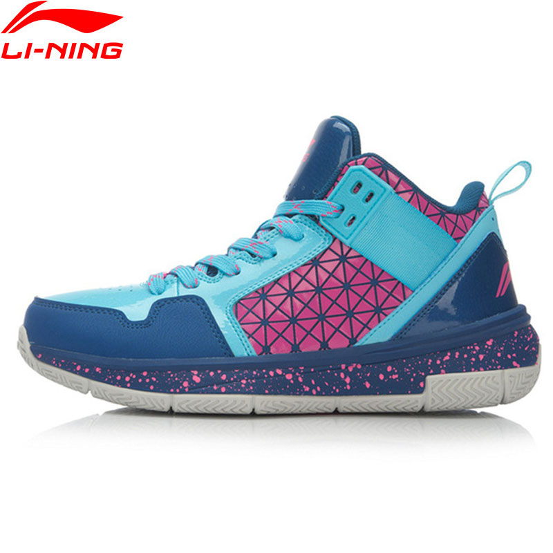 Li Ning Men s CBA on Court Basketball Shoes Breathable Cushioning Support Sneakers LiNing Sport Shoes