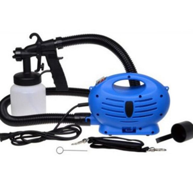 Electric Paint Spray Gun Multifunction Automatic Sprayer High Pressure Paint Tool EU Plug For Painting Cars Wood Furniture