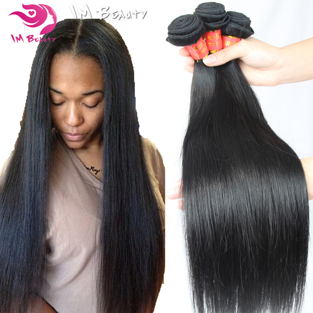 2016 Indian Straight Hair 8a Indian Virgin Hair 3pcs Lot Unprocessed