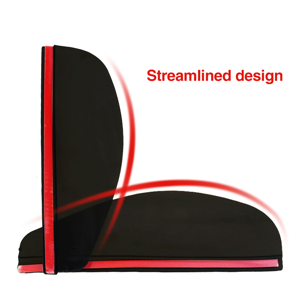 Image 3 - 2pcs/lot Universal Flexible PVC Car Accessories Rearview Mirror Rain Shade Rainproof Blades Car Back Mirror Eyebrow Rain Cover-in Awnings & Shelters from Automobiles & Motorcycles