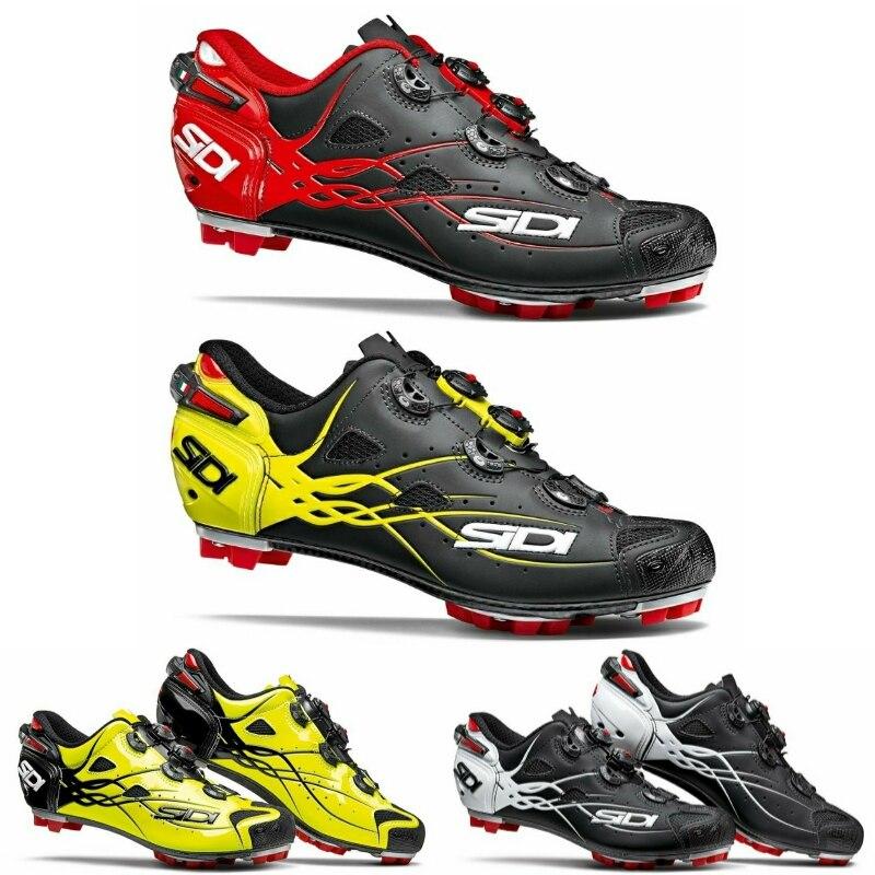 best service a319b 22b6e US $350.85 12% di SCONTO|Sidi Tigre MTB Scarpe Vent Carbon MTB Scarpe MTB  scarpe di Blocco scarpe da ciclismo-in Scarpe da ciclismo da Sport e ...
