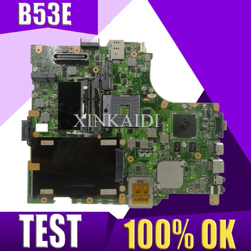 XinKaidi  B53E/S Laptop motherboard for ASUS B53E B53S B53F B53J B53A B53 Test original mainboardXinKaidi  B53E/S Laptop motherboard for ASUS B53E B53S B53F B53J B53A B53 Test original mainboard