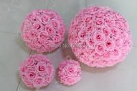 SPR 2pcs/lot 50CM Pomander rose ball Free shipping bride holding flower wedding kissing flower ball party/home decoration flowe