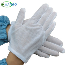 12 pairs White Cotton Serving Concierge Snooker Equestrian Driver Sweat Anti-fingerprint Labor Insurance Operations Work Gloves