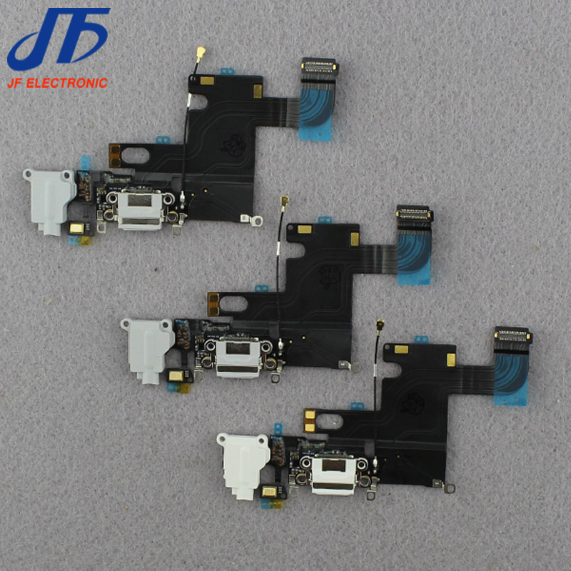 100pcs lot Dock Connector Usb Charger Charging Port Flex Cable Ribbon for iPhone 6 6g 4