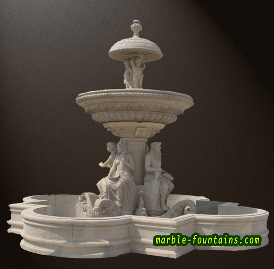 Natural Stone Fountains For Garden Marble garden fountains waterfall design natural stone fountain marble garden fountains waterfall design natural stone fountain statues of maiden in the large marble clover workwithnaturefo