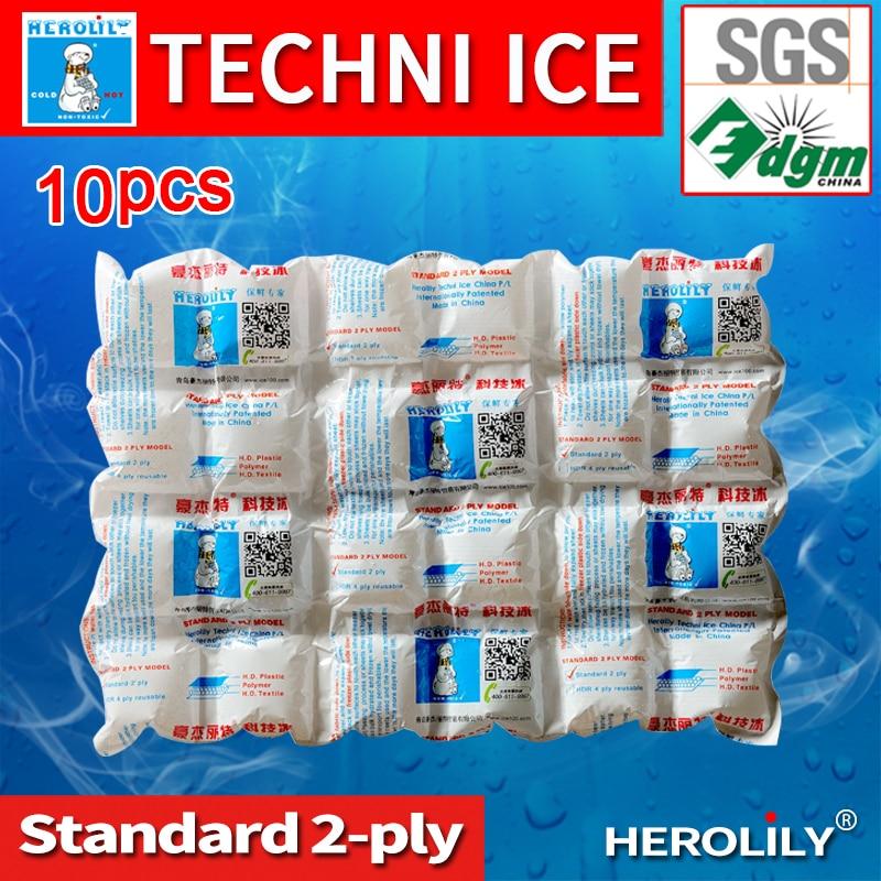 herolily techni ice 10pcs Gel Ice Pack /Cooler Bag For Food Storage, Picnic, Ice Bag 24 10pcs reusable plastic cooler bag for food storage ice gel packs cubes physical cold cooler bag bolsa termica 30