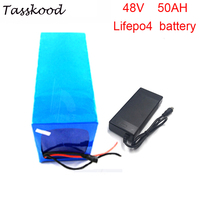 No taxes rechargeable 48v 50 lifepo4 lithium ion electric car battery/Golf Cart/ RV/ Marine