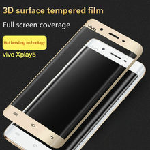 3D Surface Full Screen Coverage Mobile Phone Glass Film Scratch Proof Easy to Install Protective Film for VIVO xPlay5 xPlay6(China)